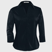 COAL HARBOUR EASY CARE 3/4 SLEEVE WOVEN LADIES' SHIRT