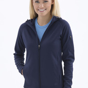 ATC PTECH FLEECE HOODED LADIES' JACKET